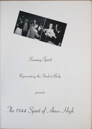Page 7, 1944 Edition, Ames High School - Spirit Yearbook (Ames, IA) online yearbook collection