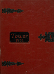 Amherst Central High School - Tower Yearbook (Amherst, NY) online yearbook collection, 1951 Edition, Cover