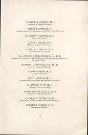 Page 12, 1892 Edition, Amherst College - Olio Yearbook (Amherst, MA) online yearbook collection