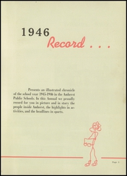 Page 7, 1946 Edition, Amherst Steele High School - Amherstonian Yearbook (Amherst, OH) online yearbook collection