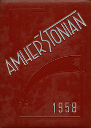 Amherst Steele High School - Amherstonian Yearbook (Amherst, OH) online yearbook collection, 1958 Edition, Cover