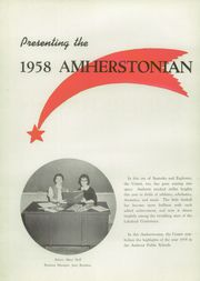 Page 6, 1958 Edition, Amherst Steele High School - Amherstonian Yearbook (Amherst, OH) online yearbook collection