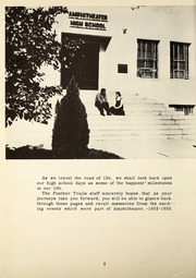 Page 6, 1953 Edition, Amphitheater High School - Panther Trails Yearbook (Tucson, AZ) online yearbook collection