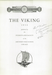 Page 7, 1934 Edition, Amundsen High School - Viking Yearbook (Chicago, IL) online yearbook collection