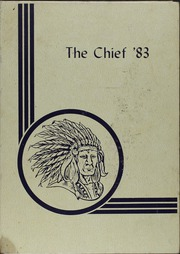 Anacoco High School - Chief Yearbook (Anacoco, LA) online yearbook collection, 1983 Edition, Cover