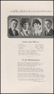Anacortes High School - Rhododendron Yearbook (Anacortes, WA) online yearbook collection, 1924 Edition, Page 16