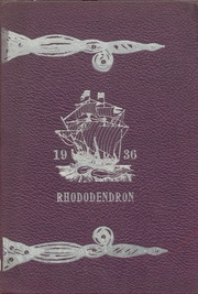 Anacortes High School - Rhododendron Yearbook (Anacortes, WA) online yearbook collection, 1936 Edition, Cover