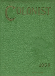 Anaheim Union High School - Colonist Yearbook (Anaheim, CA) online yearbook collection, 1950 Edition, Cover