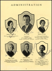 Page 16, 1934 Edition, Anahuac High School - Anahuaconian Yearbook (Anahuac, TX) online yearbook collection