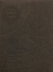Anahuac High School - Anahuaconian Yearbook (Anahuac, TX) online yearbook collection, 1948 Edition, Cover