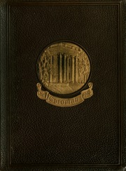 Anderson College - Columns / Sororian Yearbook (Anderson, SC) online yearbook collection, 1929 Edition, Cover