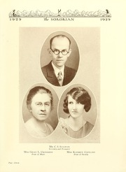 Page 15, 1929 Edition, Anderson College - Columns / Sororian Yearbook (Anderson, SC) online yearbook collection