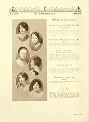 Page 16, 1929 Edition, Anderson College - Columns / Sororian Yearbook (Anderson, SC) online yearbook collection