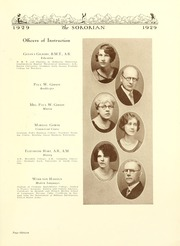Page 17, 1929 Edition, Anderson College - Columns / Sororian Yearbook (Anderson, SC) online yearbook collection