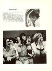 Page 9, 1967 Edition, Anderson High School - Andersonian Yearbook (Cincinnati, OH) online yearbook collection