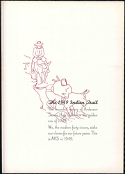 Page 7, 1949 Edition, Anderson High School - Indian Yearbook (Anderson, IN) online yearbook collection