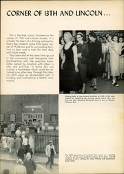 Page 9, 1955 Edition, Anderson High School - Indian Yearbook (Anderson, IN) online yearbook collection