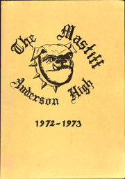 Anderson High School - Mastiff Yearbook (Winston Salem, NC) online yearbook collection, 1973 Edition, Cover