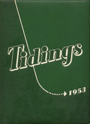 Anderson High School - Tidings Yearbook (Anderson, SC) online yearbook collection, 1953 Edition, Cover