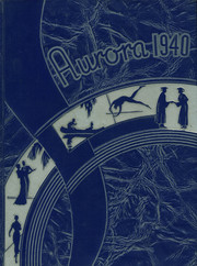 Anderson Union High School - Aurora Yearbook (Anderson, CA) online yearbook collection, 1940 Edition, Cover
