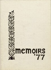 Andover Central High School - Memoirs Yearbook (Andover, NY) online yearbook collection, 1977 Edition, Cover