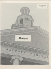 Page 9, 1977 Edition, Andover Central High School - Memoirs Yearbook (Andover, NY) online yearbook collection