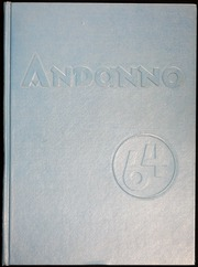 Andover High School - Andanno Yearbook (Andover, MA) online yearbook collection, 1964 Edition, Cover
