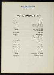 Page 6, 1967 Edition, Andover High School - Andanno Yearbook (Andover, MA) online yearbook collection