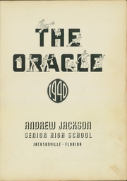 Page 7, 1940 Edition, Andrew Jackson High School - Oracle Yearbook (Jacksonville, FL) online yearbook collection