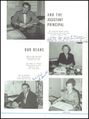 Page 17, 1960 Edition, Andrew Jackson High School - Oracle Yearbook (Jacksonville, FL) online yearbook collection