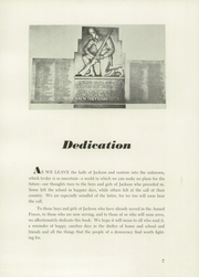 Page 11, 1951 Edition, Andrew Jackson High School - Pioneer Yearbook (Cambria Heights, NY) online yearbook collection