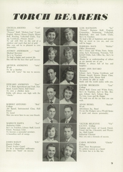 Page 13, 1951 Edition, Andrew Jackson High School - Pioneer Yearbook (Cambria Heights, NY) online yearbook collection