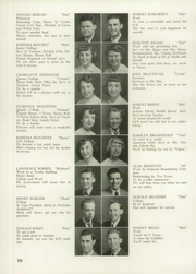 Page 14, 1951 Edition, Andrew Jackson High School - Pioneer Yearbook (Cambria Heights, NY) online yearbook collection