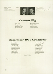 Andrew Jackson High School - Pioneer Yearbook (Cambria Heights, NY) online yearbook collection, 1951 Edition, Page 34 of 88