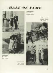 Andrew Jackson High School - Pioneer Yearbook (Cambria Heights, NY) online yearbook collection, 1951 Edition, Page 35