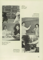 Andrew Jackson High School - Pioneer Yearbook (Cambria Heights, NY) online yearbook collection, 1951 Edition, Page 37