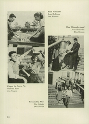 Andrew Jackson High School - Pioneer Yearbook (Cambria Heights, NY) online yearbook collection, 1951 Edition, Page 38 of 88