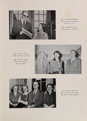 Andrew Jackson High School - Pioneer Yearbook (Cambria Heights, NY) online yearbook collection, 1954 Edition, Page 11