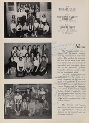 Andrew Jackson High School - Pioneer Yearbook (Cambria Heights, NY) online yearbook collection, 1954 Edition, Page 84