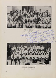 Andrew Jackson High School - Pioneer Yearbook (Cambria Heights, NY) online yearbook collection, 1954 Edition, Page 86