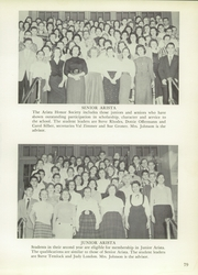 Andrew Jackson High School - Pioneer Yearbook (Cambria Heights, NY) online yearbook collection, 1957 Edition, Page 83