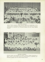 Andrew Jackson High School - Pioneer Yearbook (Cambria Heights, NY) online yearbook collection, 1957 Edition, Page 85