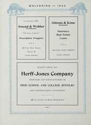 Andrew Lewis High School - Pioneer Yearbook (Salem, VA) online yearbook collection, 1932 Edition, Page 72