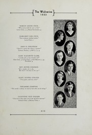 Andrew Lewis High School - Pioneer Yearbook (Salem, VA) online yearbook collection, 1933 Edition, Page 11