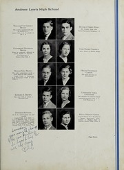 Andrew Lewis High School - Pioneer Yearbook (Salem, VA) online yearbook collection, 1935 Edition, Page 15
