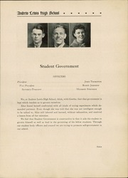 Andrew Lewis High School - Pioneer Yearbook (Salem, VA) online yearbook collection, 1936 Edition, Page 11
