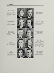 Andrew Lewis High School - Pioneer Yearbook (Salem, VA) online yearbook collection, 1937 Edition, Page 23
