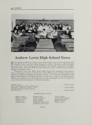 Andrew Lewis High School - Pioneer Yearbook (Salem, VA) online yearbook collection, 1937 Edition, Page 51