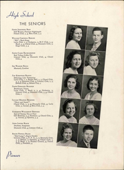 Andrew Lewis High School - Pioneer Yearbook (Salem, VA) online yearbook collection, 1939 Edition, Page 19