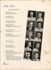 Andrew Lewis High School - Pioneer Yearbook (Salem, VA) online yearbook collection, 1939 Edition, Page 25